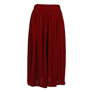wholesale Overstock and Clearance Skirts, Pants, & Dresses  Magic Slinky Skirts - Cranberry - S-2X
