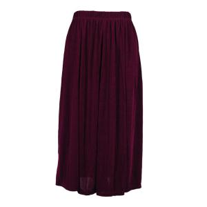 wholesale Overstock and Clearance Skirts, Pants, & Dresses  Magic Slinky Skirts - Purple - S-2X