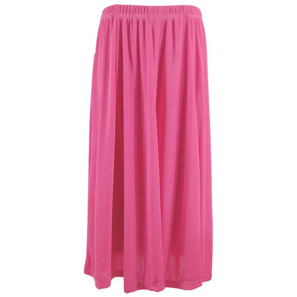 wholesale Overstock and Clearance Skirts, Pants, & Dresses  Magic Slinky Skirts - Solid Raspberry - S-2X