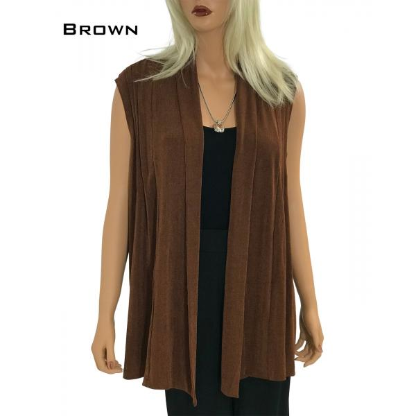 wholesale Slinky TravelWear Vest* Brown - One Size Fits All