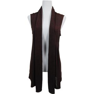 wholesale Slinky TravelWear Vest* Dark Brown - One Size Fits All