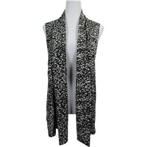 wholesale Slinky TravelWear Vest* Leopard Black-White - One Size Fits All