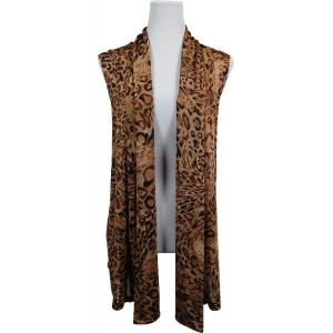 wholesale Slinky TravelWear Vest* Leopard Print - One Size Fits All