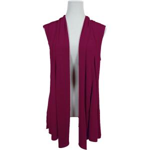 wholesale Slinky TravelWear Vest* Plum - One Size Fits All