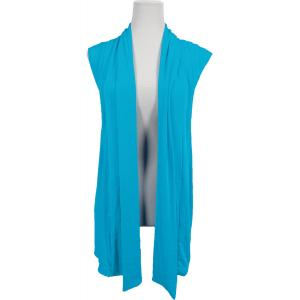 wholesale Slinky TravelWear Vest* Caribbean Teal - One Size Fits All