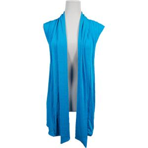 wholesale Slinky TravelWear Vest* Turquoise - One Size Fits All