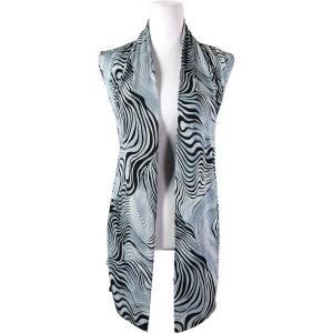 wholesale Slinky TravelWear Vest* Swirl Animal - Charcoal - One Size Fits All