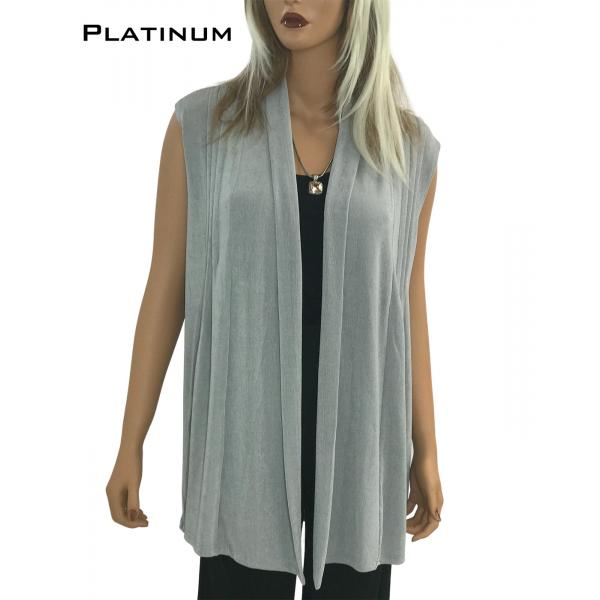 wholesale Slinky TravelWear Vest* Platinum - One Size Fits All