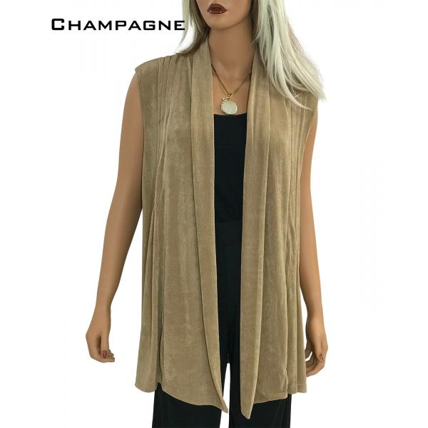 wholesale Slinky TravelWear Vest* Champagne - One Size Fits All