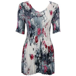 Wholesale  White-Black-Pink Floral - One Size (S-XL)
