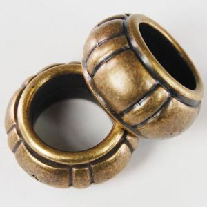 Scarf Rings and Buckles Bronze Tone Plastic (2 Pack) -