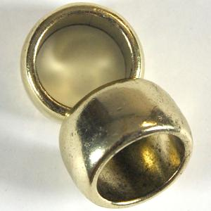 Scarf Rings and Buckles Antique Bronze Metal (2 Pack) -