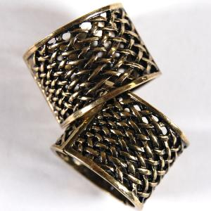 Scarf Rings and Buckles 01 Bronze (2 Pack) -
