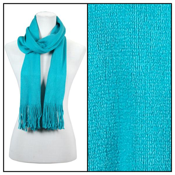 wholesale Oblong Scarves - Cashmere Feel 0940002 Turquoise MB -