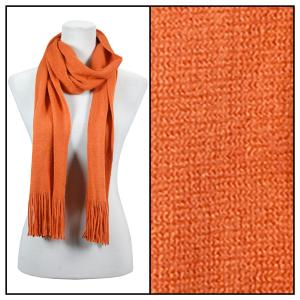 wholesale Oblong Scarves - Cashmere Feel 0940002 Rust -