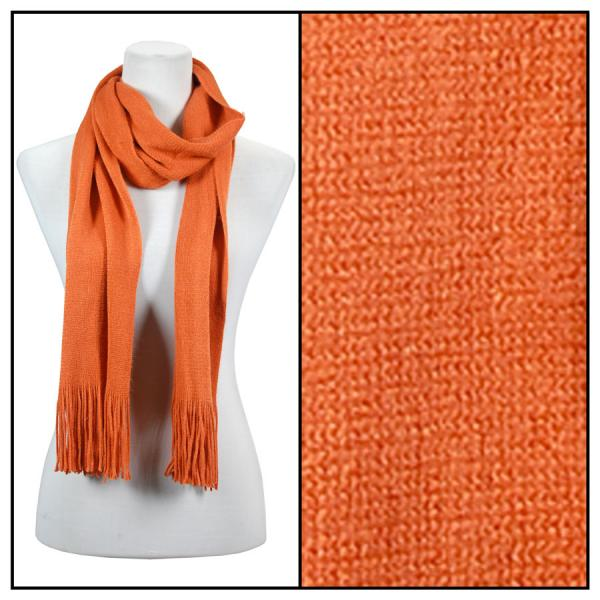 wholesale Oblong Scarves - Cashmere Feel 0940002 Rust Oblong Scarf - Cashmere Feel 0940002 -