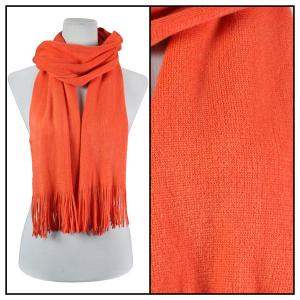 wholesale Oblong Scarves - Cashmere Feel 0940002 Coral -