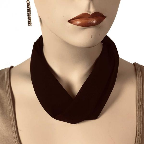 Wholesale Chiffon Magnet Necklace w/ Optional Pendant #039 Java (Bronze Magnet) -