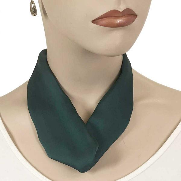 wholesale Satin Magnet Necklace with Optional Pendant #006 Dark Green (Bronze Magnet) -