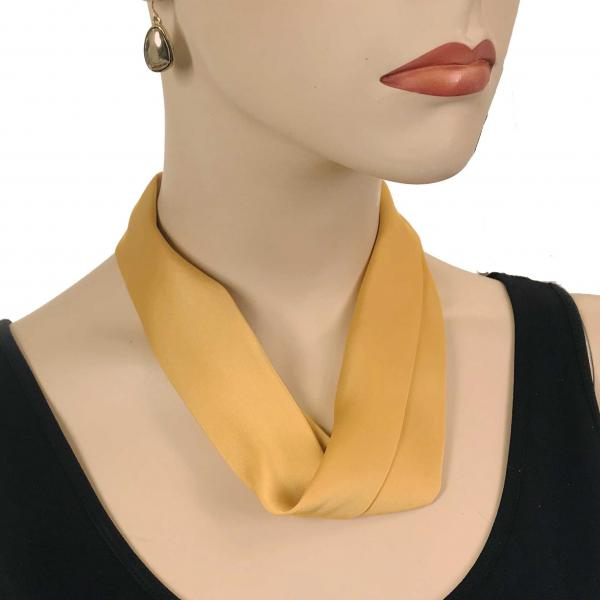 wholesale Satin Magnet Necklace with Optional Pendant #019 Gold (Bronze Magnet) -