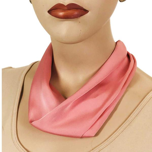wholesale Satin Magnet Necklace with Optional Pendant #023 Dusty Pink (Silver Magnet) -