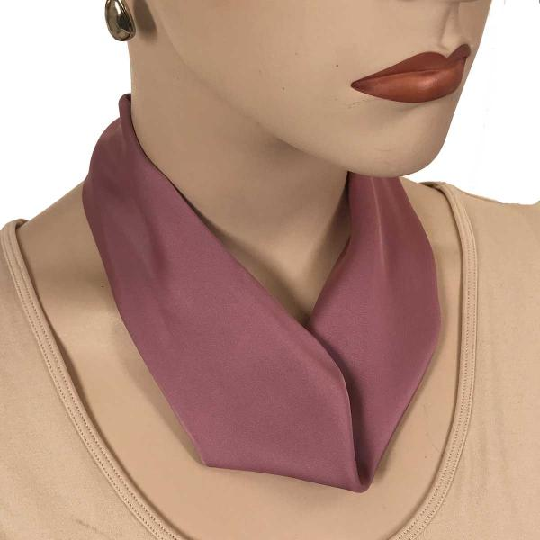 wholesale Satin Magnet Necklace with Optional Pendant #026 Dusty Rose (Silver Magnet) -