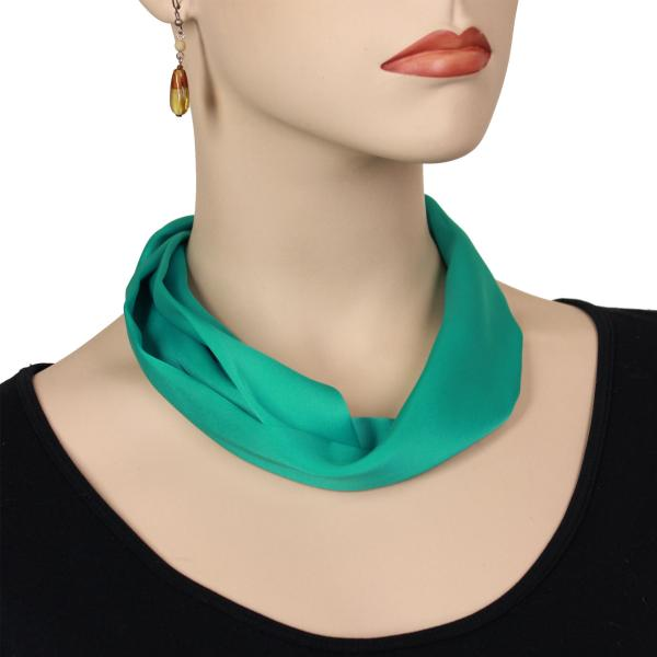 wholesale Satin Magnet Necklace with Optional Pendant #029 Seafoam (Silver Magnet) -