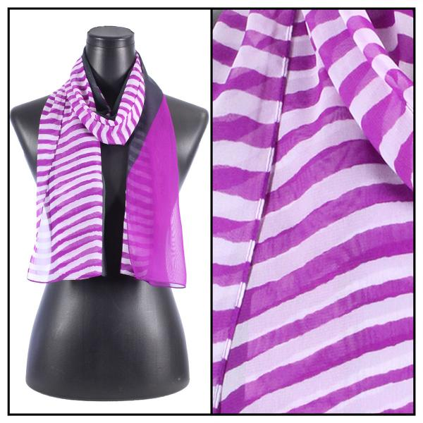 Silky Dress Scarves N113 Orchid -
