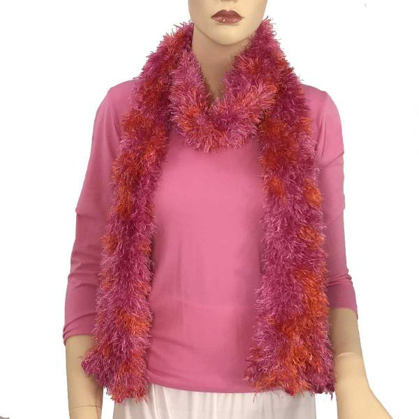 Wholesale Boutique Edition Magic Scarves Hot Pink-Orange Splash Boutique Edition Magic Scarf -