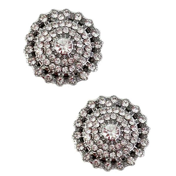 Magnetic Brooches - Small Double Sided MB327 Clear (Double Sided) -
