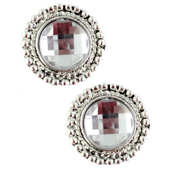 Magnetic Brooches - Small Double Sided MB331 Clear Double Sided) -