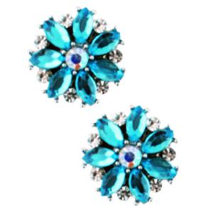 wholesale Magnetic Brooches - Small Double Sided MB335 Turquoise (Double Sided) -
