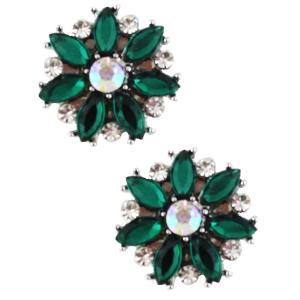 wholesale Magnetic Brooches - Small Double Sided MB335 Green (Double Sided) -