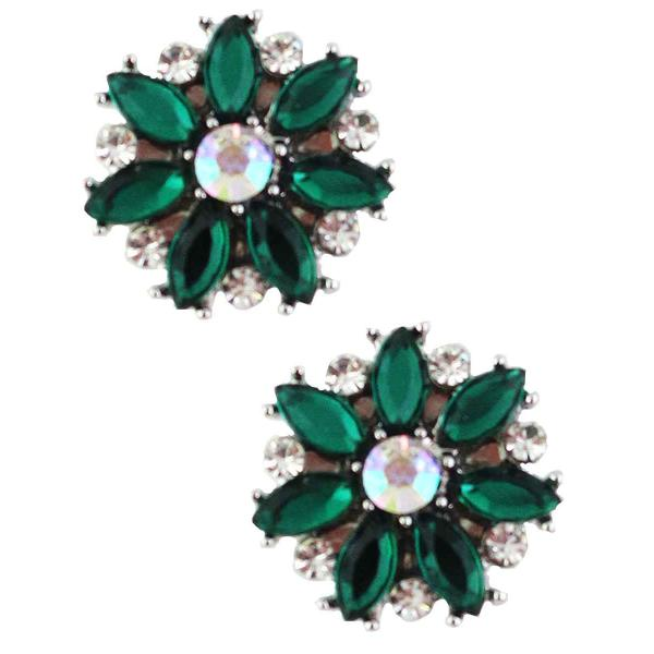 Magnetic Brooches - Small Double Sided MB335 Green (Double Sided) -