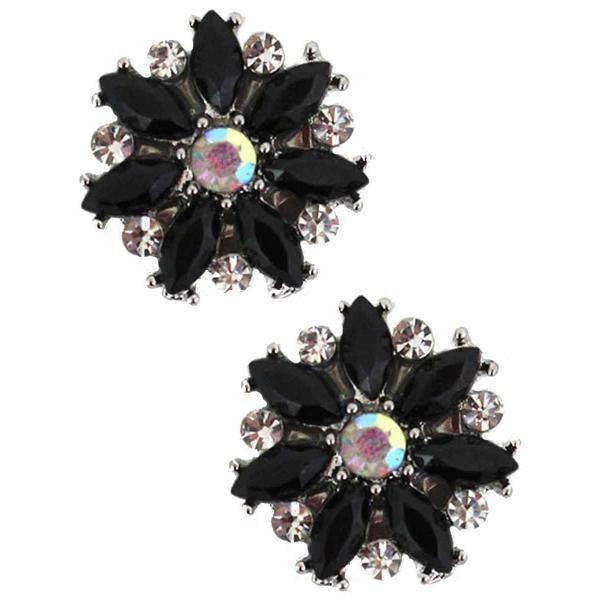 Magnetic Brooches - Small Double Sided MB335 Black (Double Sided) -