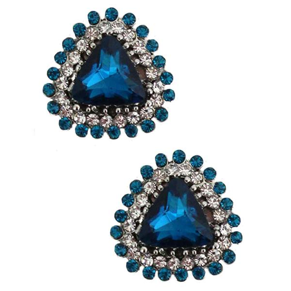 Magnetic Brooches - Small Double Sided MB400 Turquoise (Double Sided) -