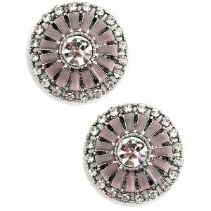 wholesale Magnetic Brooches - Small Double Sided MB402 Pink (Double Sided) -