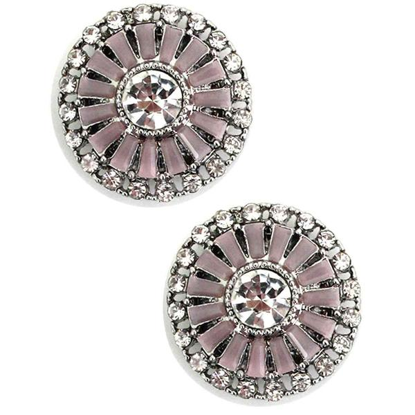 Magnetic Brooches - Small Double Sided MB402 Pink (Double Sided) -