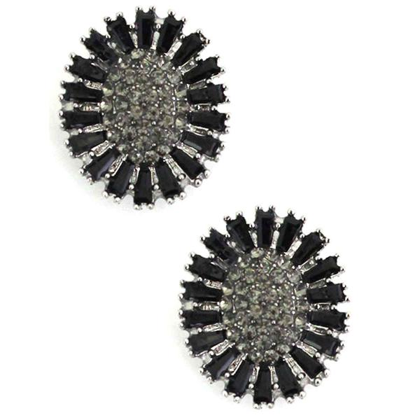 Magnetic Brooches - Small Double Sided MB403 Black (Double Sided) -