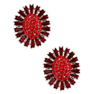 wholesale Magnetic Brooches - Small Double Sided MB403 Red (Double Sided) -