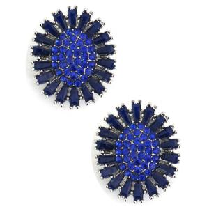 wholesale Magnetic Brooches - Small Double Sided MB403 Blue (Double Sided) -