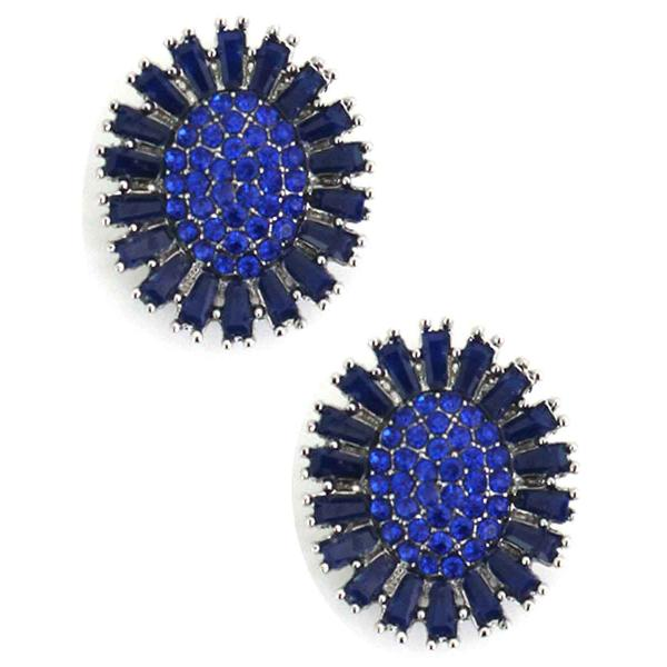 Magnetic Brooches - Small Double Sided MB403 Blue (Double Sided) -