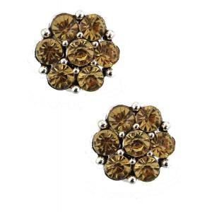 wholesale Magnetic Brooches - Small Double Sided MB307 Gold (Double Sided) -