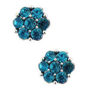 wholesale Magnetic Brooches - Small Double Sided MB307 Turquoise (Double Sided) -