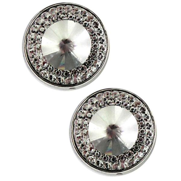 Magnetic Brooches - Small Double Sided MB372 Clear (Double Sided) -