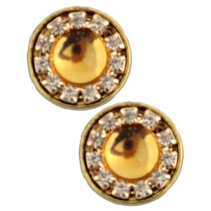 wholesale Magnetic Brooches - Small Double Sided MB336 Gold (Double Sided) -