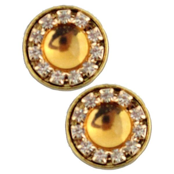 Magnetic Brooches - Small Double Sided MB336 Gold (Double Sided) -