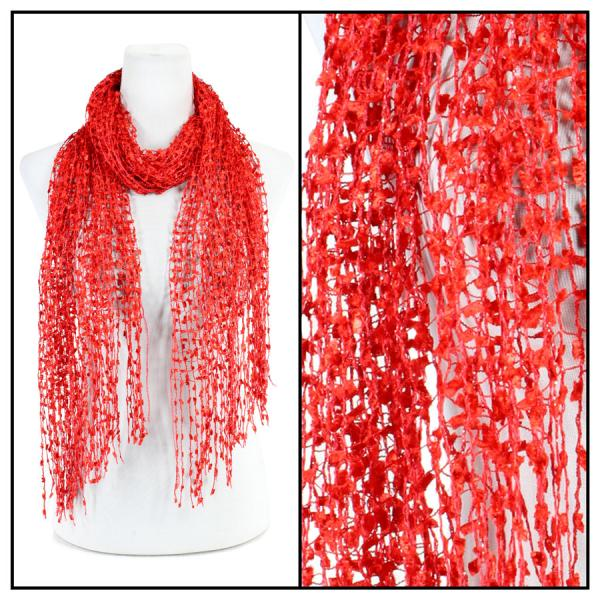 wholesale Oblong Scarves - Confetti 26791 Red -