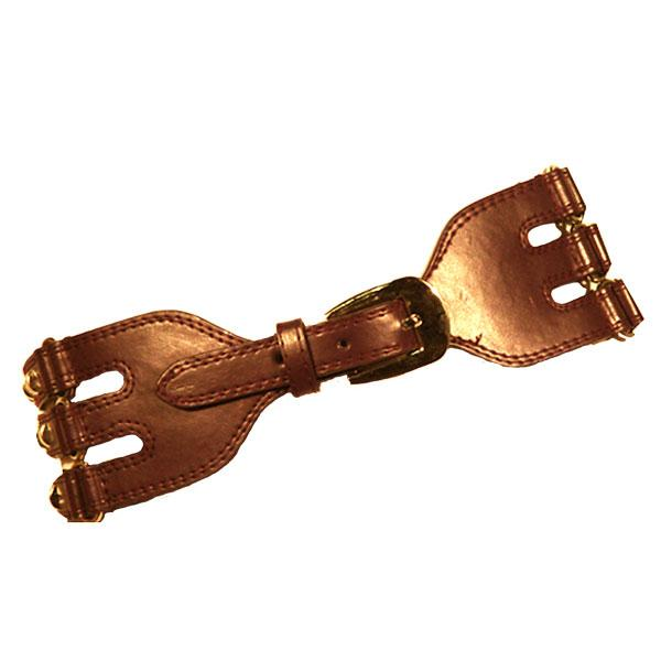 wholesale Fashion Stretch Belts 7569 - Light Brown - ONE SIZE FITS (S-L)