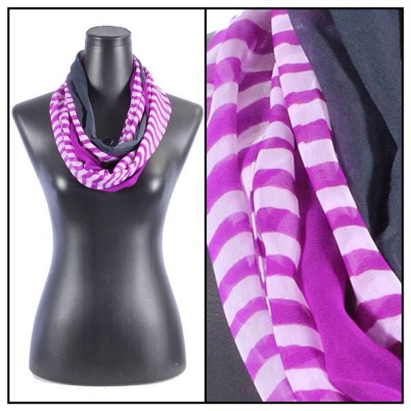 Infinity Silky Dress Scarves N113 Orchid -